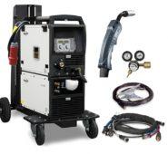 Aparat de sudura MIG/MAG Multiproces EWM Taurus 355 Synergic TKW+cool+trolley+1m pachet cabluri