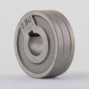 Rola antrenare 0.8-1.0mm  canal in 'U' pt. POCKETMIG 165/185/195 (30X10X10mm) Alu